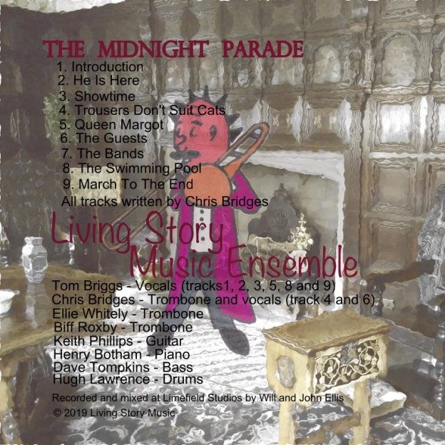 themidnightparade cd back